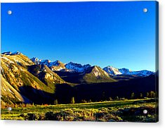 Acrylic Print featuring the photograph Canyon Creek  by Kevin Bone