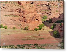 Canyon De Chelly From White House Ruins Trail Acrylic Print by Christine Till
