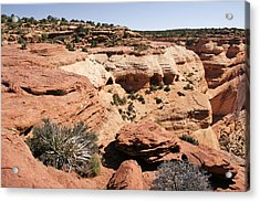 Canyon De Chelly - Land Of Standing Rock Acrylic Print by Christine Till