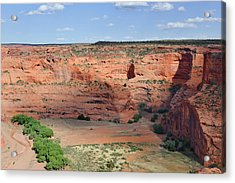 Canyon De Chelly Near White House Ruins Acrylic Print by Christine Till