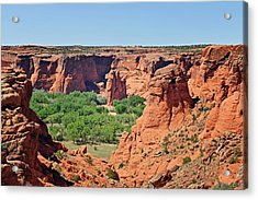 Canyon De Chelly - Tunnel Overlook Acrylic Print by Christine Till