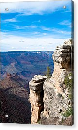 Canyon For Miles Acrylic Print by Nickaleen Neff
