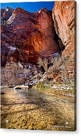 Canyon Glow Acrylic Print by Christopher Holmes