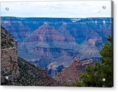 Canyon In View Acrylic Print by Nickaleen Neff
