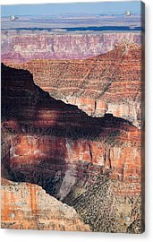 Canyon Layers Acrylic Print by Dave Bowman