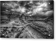 Canyon Light And Clouds Acrylic Print by Garett Gabriel