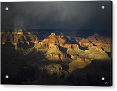 Canyon Light Acrylic Print by Peter Coskun
