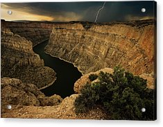 Canyon Storm Acrylic Print