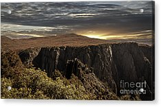 Canyon Twilight Acrylic Print