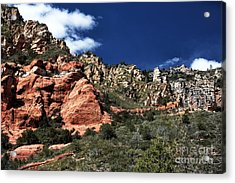 Canyon View Acrylic Print by John Rizzuto