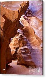 Canyon Walls Acrylic Print by Bryan Keil