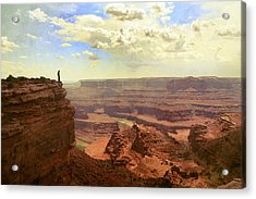 Canyon Acrylic Print by Cambion Art