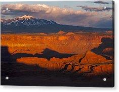 Canyonlands Light Acrylic Print by Joseph Rossbach