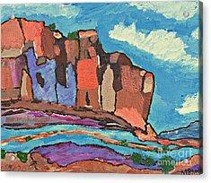 Canyon's  Chorus Acrylic Print