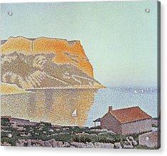 Cap Canaille Acrylic Print by Paul Signac