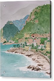 Cap D'ail After The Storm Acrylic Print