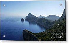 Cap De Formentor Acrylic Print by John Chatterley