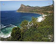 Cape And Cliffs Nearby Cape Point Acrylic Print by Sami Sarkis