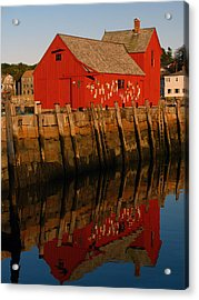 Cape Ann Fishing Shack Acrylic Print by Juergen Roth