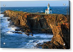 Cape Arago Lighthouse Acrylic Print