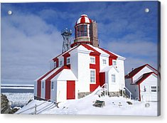 Cape Bonavista Lighthouse Acrylic Print