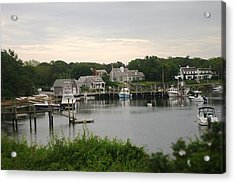 Acrylic Print featuring the photograph Cape Cod At Dusk by Suzanne Powers