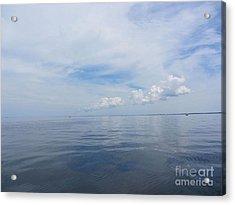 Cape Cod Bay Acrylic Print by Lisa  Marie Germaine