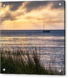 Cape Cod Bay Square Acrylic Print by Bill Wakeley