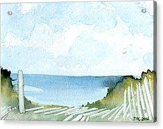 Cape Cod Bay Study #1 Acrylic Print