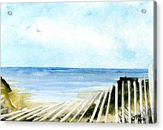 Cape Cod Bay Study #2 Acrylic Print by Jennifer  Creech