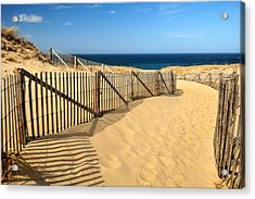 Cape Cod Beach Acrylic Print