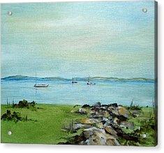 Cape Cod  Boats Acrylic Print