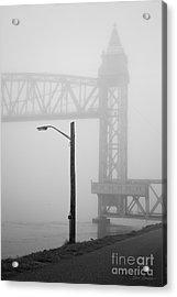 Cape Cod Railroad Bridge No. 3 Acrylic Print by David Gordon