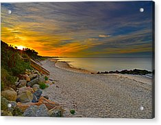Cape Cod Sunrise #1 Acrylic Print