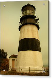 Acrylic Print featuring the photograph Cape Disappointment Lighthouse II by Susan Parish
