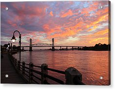 Cape Fear Bridge Acrylic Print