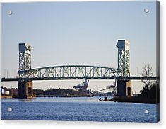 Cape Fear Memorial Bridge Acrylic Print