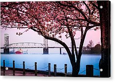 Cape Fear Of Wilmington Acrylic Print