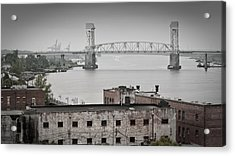 Cape Fear River - Photography By Jo Ann Tomaselli Acrylic Print