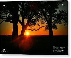 Cape Fear Sunset Acrylic Print