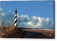 Cape Hatteras Lighthouse Nc Acrylic Print by Skip Willits
