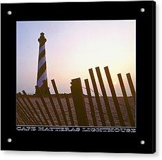 Cape Hatteras Lighthouse Acrylic Print by Mike McGlothlen