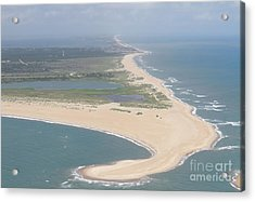Cape Hatteras The Postcard Acrylic Print