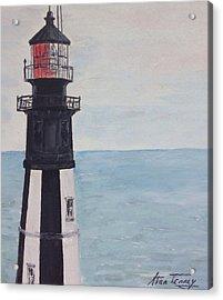 Cape Henry Lighthouse Acrylic Print by Stan Tenney