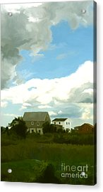 Cape House Acrylic Print by Paul Tagliamonte
