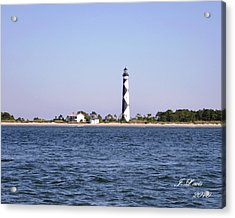 Cape Lookout Light Acrylic Print by James Lewis