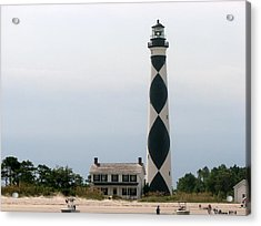 Cape Lookout Lighthouse Acrylic Print by Dan Williams