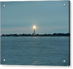 Acrylic Print featuring the photograph Cape May Beacon by Ed Sweeney
