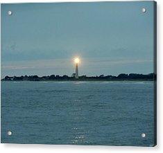 Cape May Beacon Acrylic Print by Ed Sweeney