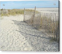 Cape May Acrylic Print by Bev Conover